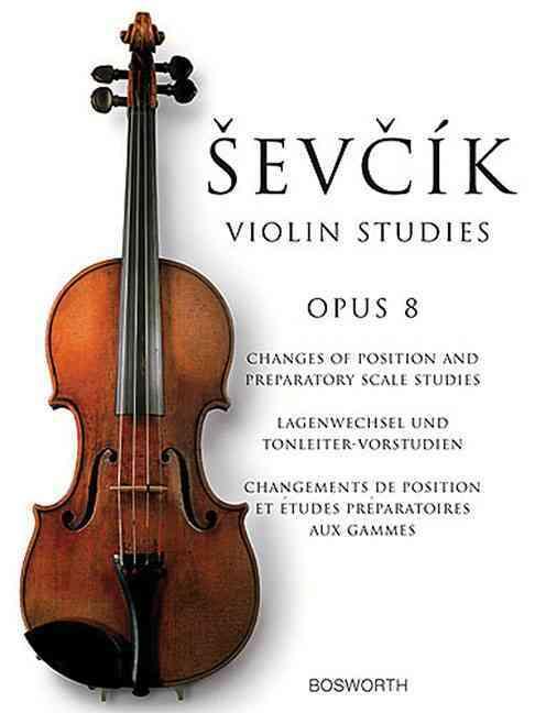 Sevcik Violin Studies - Opus 8 By Sevcik, Otakar